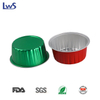 LWS-RC84 Color coated aluminum foil baking cups