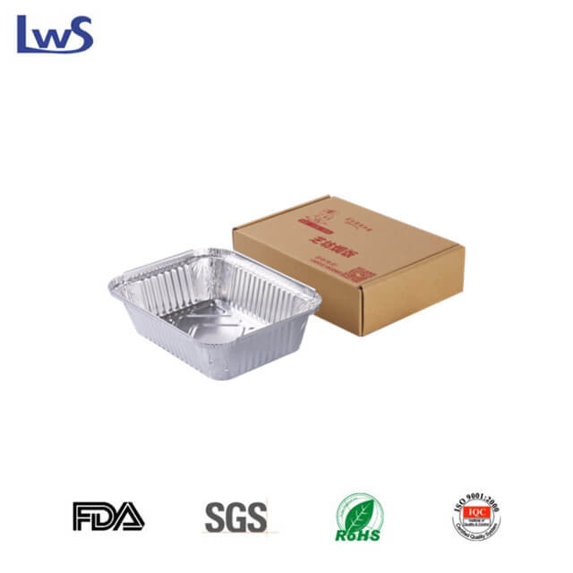 RE185 SET Take out aluminum foil container